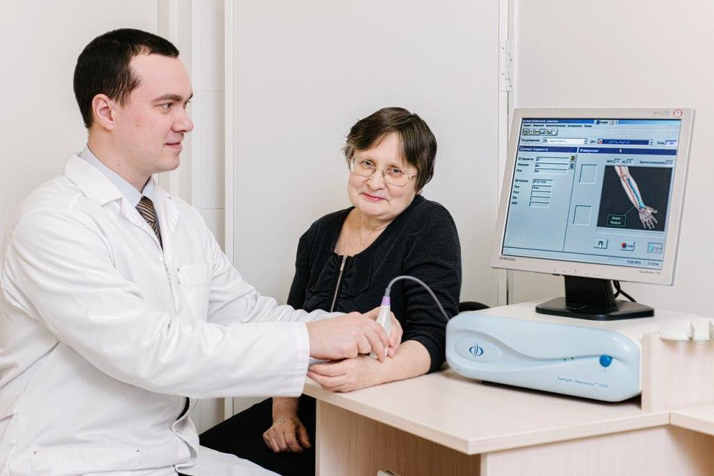 Оценка состояния костной ткани в центре E-motion